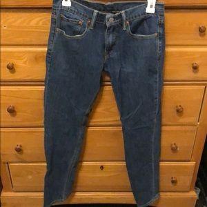 Levi 511 Blue Jeans . 28/32